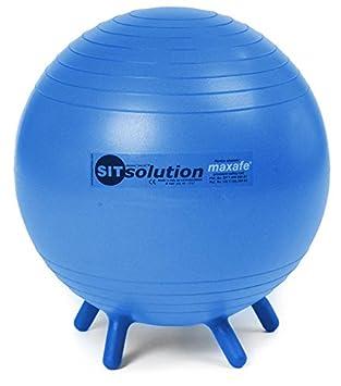 Sitsolution Maxafe - Pelota para pilates, 65 cm azul azul: Amazon ...
