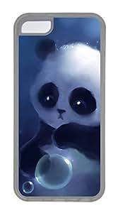 iPhone 5c case, Cute Cute Panda iPhone 5c Cover, iPhone 5c Cases, Soft Clear iPhone 5c Covers