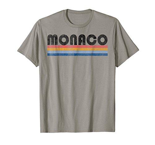 Vintage 1980s Style Monaco T-Shirt ()