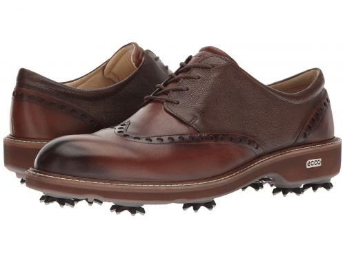 ECCO Golf(エコー ゴルフ) メンズ 男性用 シューズ 靴 スニーカー 運動靴 Golf Lux - Bison/Stone [並行輸入品] B07C8QM1QW