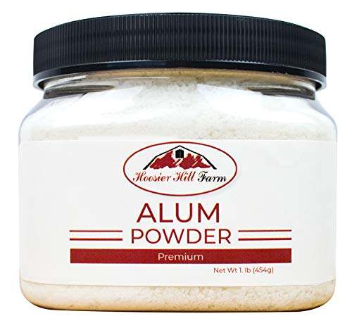 Hoosier Hill Farm Alum Granulated Pickle Powder, 1 Pound