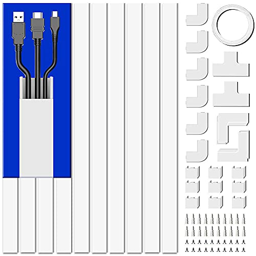 Cord Cover Raceway Kit, 157in Cable Cover