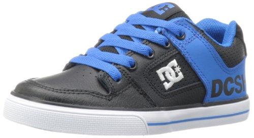 DC PURE KIDS SHOE - Zapatillas De Skate infantil negro - Schwarz (BK/BL ATLL)