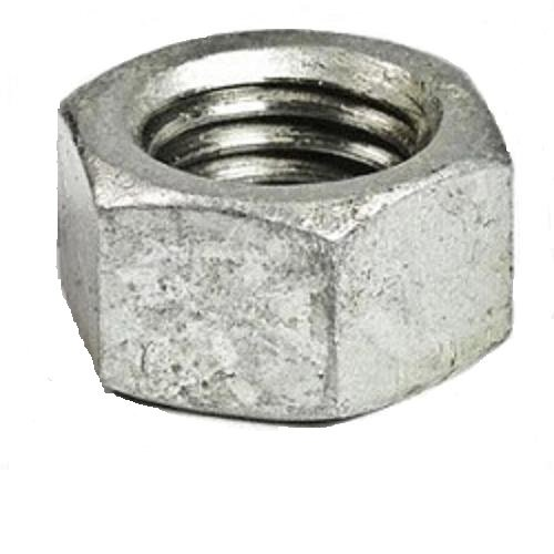 1-8 Thread Size Pack of 5 Small Parts FSC1HNSG Low-Strength Steel Hex Nut Fastcom Supply Grade 2 Pack of 5 1-8 Thread Size