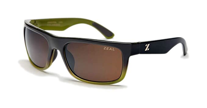 d4f93518e21 Zeal Optics Unisex Essential Polarized Brown + Olive W   Copper Polarized  Lens Sunglasses One Size