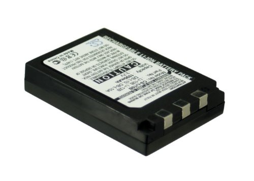 Battery2go Li-ion BATTERY Pack Fits OLYMPUS u-40 Digital, -410 DIGITAL, 30 DIGITAL, -20 DIGITAL, Stylus 810