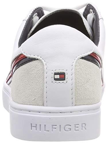 Essential Femme Star 020 Hilfiger rwb Tommy Sneakers Basses Sneaker Blanc wCUEP