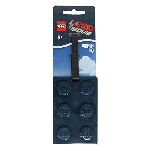 The Lego Movie Brick Luggage Bag Tag - Navy Blue (1 Supplied)