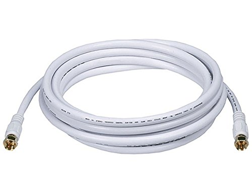 quad shield rg6 white - 5