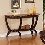 Brand New 52''x18''x27.5''H Brownstown Sofa Table
