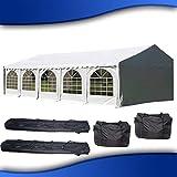 DELTA Canopies 32'x16' PVC Party Tent - Heavy Duty Wedding Canopy Gazebo Carport - with Storage Bags