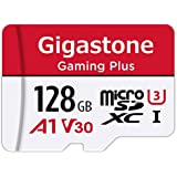 Gigastone 128GB Micro SD Card  Gaming Plus  Nintendo Switch Compatible  High Speed 100MB/s  4K Video Recording  Micro SDXC UHS-I A1 Class 10