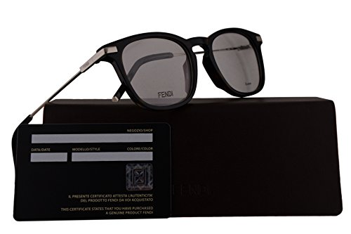Fendi FF0226 Eyeglasses 50-19-145 Dark Havana w/Demo Clear Lens 086 FF - Fendi Frames Spectacle
