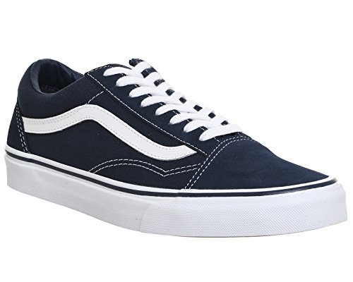 Vans Old Skool Classic Suede/Canvas, Sneaker Unisex - Adulto Dress Blu/True Bianco