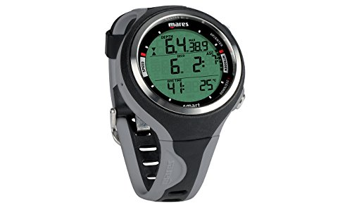Mares Smart Wrist Dive Computer, Black/Grey ()