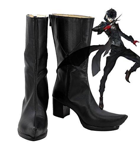 Telacos P5 Persona 5 Protagonist Akira Kurusu Cosplay Shoes Boots Custom Made by Telacos