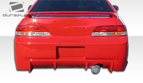 Honda Prelude Buddy - Duraflex Replacement for 1997-2001 Honda Prelude Buddy Rear Bumper Cover - 1 Piece