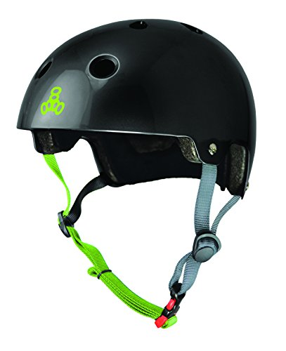 Triple glanzschwarz ciclismo da Casco Brainsaver Zest 8 4vqT4nO