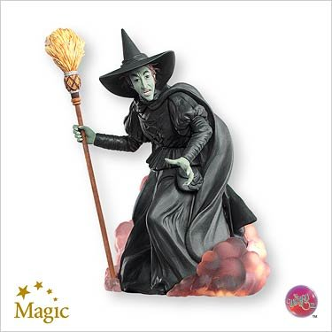 2007 Hallmark Ornament The Wizard of Oz The Wicked Witch of the West]()