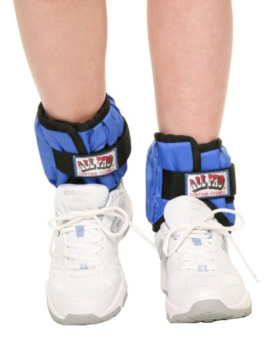 All-Pro-Weight-Adjustable-Ankle-Weights-10-lb-pair-up-to-5-lbs-per-ankle