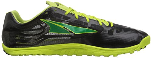 Altra Mens Golden Spike Running Shoe Lime / Black