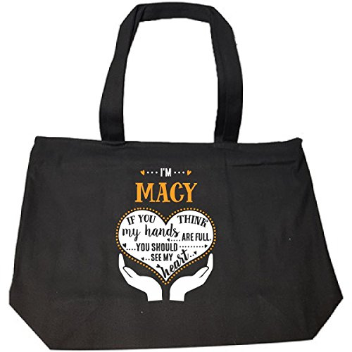 Macy Should See My Heart Cool Gift - Tote Bag With - Bag My Macy's