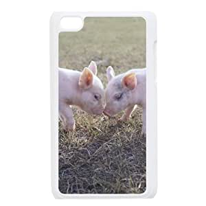 HXYHTY Phone Case Little Pig,Customized Case For Ipod Touch 4