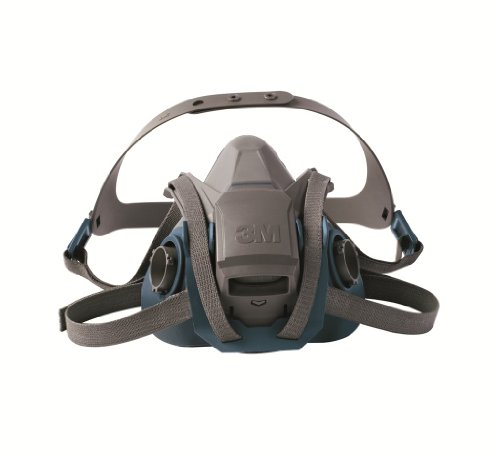 3M Rugged Comfort Quick Latch Half Facepiece Reusable Respirator 6503QL/49492, Large by 3M Personal Protective Equipment (Image #2)