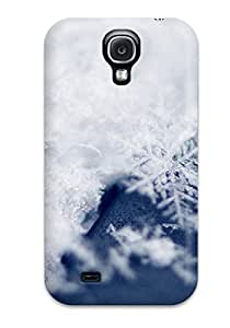 Flexible Tpu Back Case Cover For Galaxy S4 - Ice