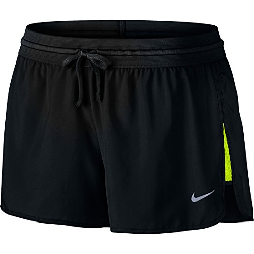 Nike Womens Moisture Wicking Lightweight Athletic Shorts Black (Nike Lightweight Shorts)