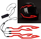 4PCS Motorcycle LED Night Riding Signal Helmet EL