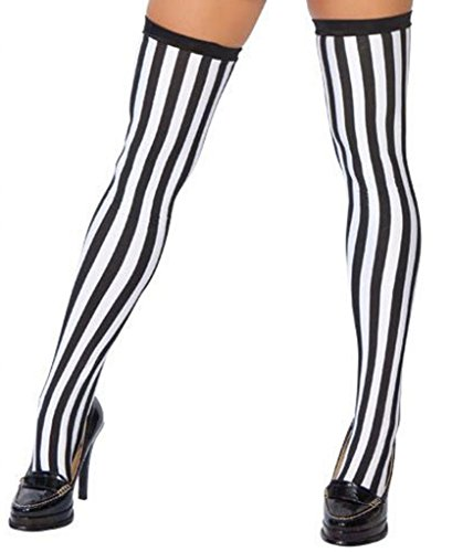 Sexy Sporty Referee Stockings Halloween (Soccer Ref Halloween Costumes)