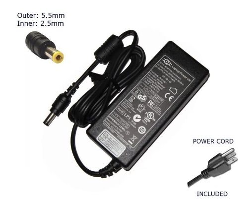 Laptop Notebook Charger for Toshiba Satellite Pro U400-1H U400-24H U400-25H U400-S1002V U500-00H Adapter Adaptor Power Supply