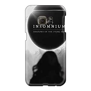 Shockproof Hard Cell-phone Case For Samsung Galaxy S6 (jzK11493uEAL) Custom High Resolution Insomnium Band Pattern