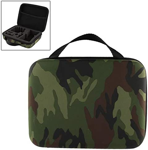 Size 21cm x 16cm x 6.5cm Durable GuiPing Camouflage Pattern EVA Shockproof Waterproof Portable Case for GoPro Hero 4//3+ 1 3//2