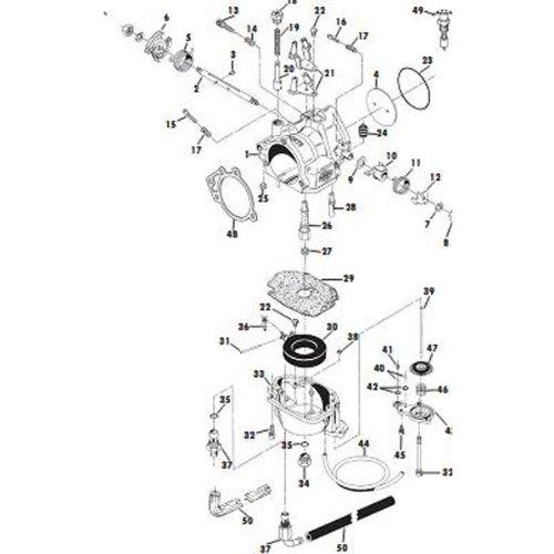 Amazon.com: S&S Carb Bowl Assembly for Super E & G Carburetors ...