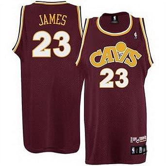 huge discount f6014 d57e9 NBA Cleveland Cavaliers Lebron James 'CAVS' 83- 89 Throwback ...