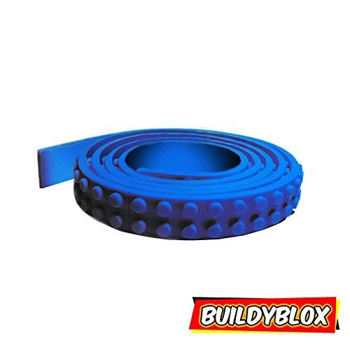 Green Ninjago Costume Uk (Toy Block Tape|Brick building Base Plates Strips|Building Block Tape Roll Self-Adhesive| Lego, Mega Bloks, Kreo Compatible | Blue 3.26 ft)