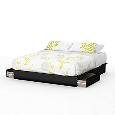 South Shore Step One Platform Bed with Drawers