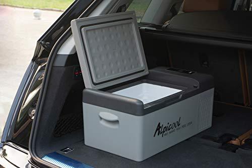 Alpicool C15 Portable Refrigerator 16 Quart(15 Liter) Vehicle, Car, Turck, RV, Boat, Mini fridge freezer for Driving, Travel, Fishing, Outdoor and Home use -12/24V DC and 110-240 AC