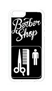 """RainbowSky iPhone 6 Plus (5.5"""" Inch) Case - Barbershop Barber Shop Hard Plastic Back Protection Phone Case Cover -563"""