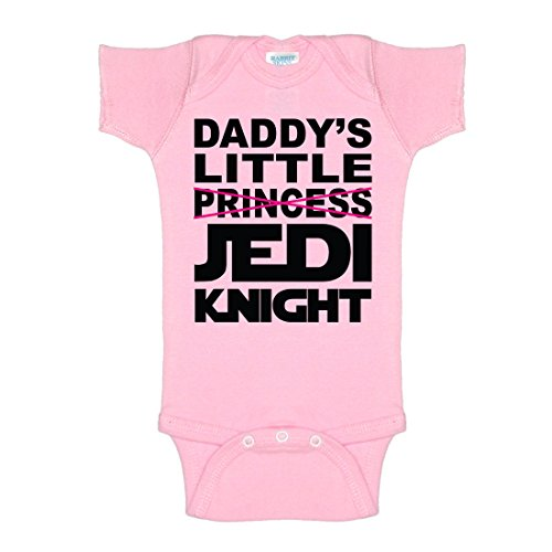 Daddy's Little Princess Jedi Knight One-Piece Baby Onesie Bodysuit (Sexy Little Outfits)