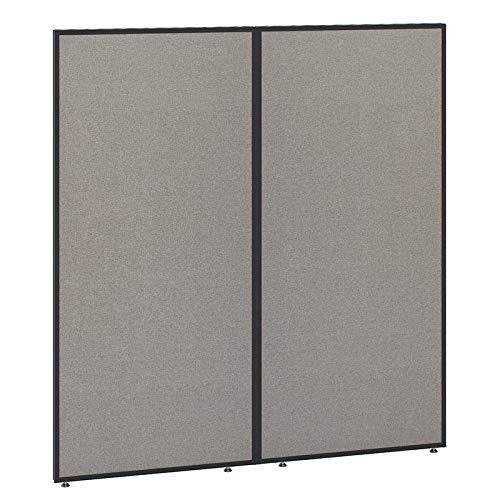 Bush Business Furniture PP66761-03 ProPanels Office Partition, 66H x 60W, Light Gray