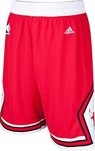 Adidas Chicago Bulls Swingman Youth Replica Road Basketball Shorts -