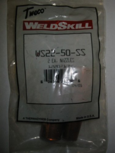 TWECO NOZZLES 22-50-SS - QTY/2
