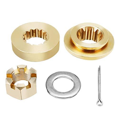 Value.Trade.Inc - Marine Propeller Hardware Kits Thrust Washer Spacer Nut Split Pin 13 Spline Tooth For Honda 35-60HP Boat Hardware Accessories