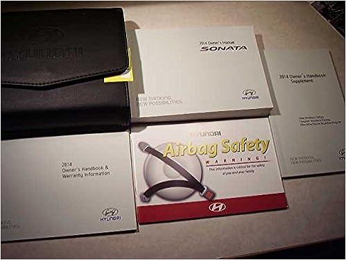 2014 hyundai sonata owners manual