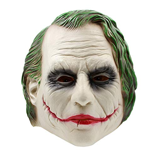 ODOSAN 3D Full Halloween Party Costume Joker Head Mask for -