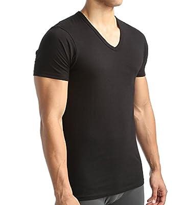 Calvin Klein Men's Undershirts Cotton Classics 3 Pack Slim Fit V Neck T-Shirts