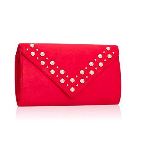 London pour Pochette Red femme Xardi XqRnvq